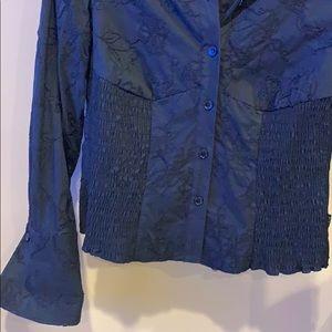 BCBGMaxAzria Tops - Black bcbg dress shirt